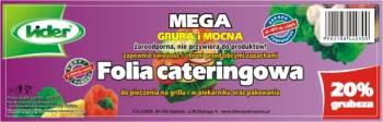 LIDER FOLIA ALUMINIOWA CATERINGOWA MEGA 45cm