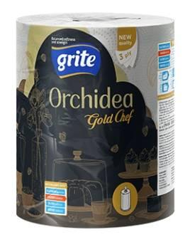 GRITE HM RECZNIK ORCHIDEA GOLD CHEF 3warstwy