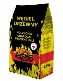 GRILL & PARTY PREMIUM WEGIEL DRZEWNY 2,5kg