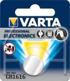VARTA BAT Bateria CR 1616