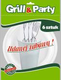 GRILL & PARTY ZESTAW GRILLOWY a`24szt