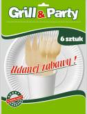 GRILL & PARTY ECO ZESTAW GRILLOWY a`24szt