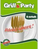 GRILL & PARTY B-KOMPOZYT ZESTAW GRILLOWY a`24szt