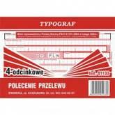 BIURO DRUK POLECENIA PRZELEWU 4-ODC A6