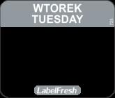 LABELFRESH EASY-ETYK 30x25/1000 (725)WTOREK