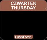 LABELFRESH EASY-ETYK 30x25/1000 (727)CZWARTEK