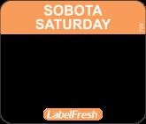 LABELFRESH EASY-ETYK 30x25/500 (18006)SOBOTA