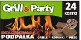 GRILL & PARTY PODPALKA EKOLOGICZNA a`24szt