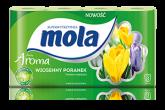 MOLA CLASIC PAPIER TOALETOWY a`8szt ZIELONY/WIOSEN
