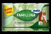 MOLA FAMILI PAPIER TOALETOWY a`8szt ZIELONY